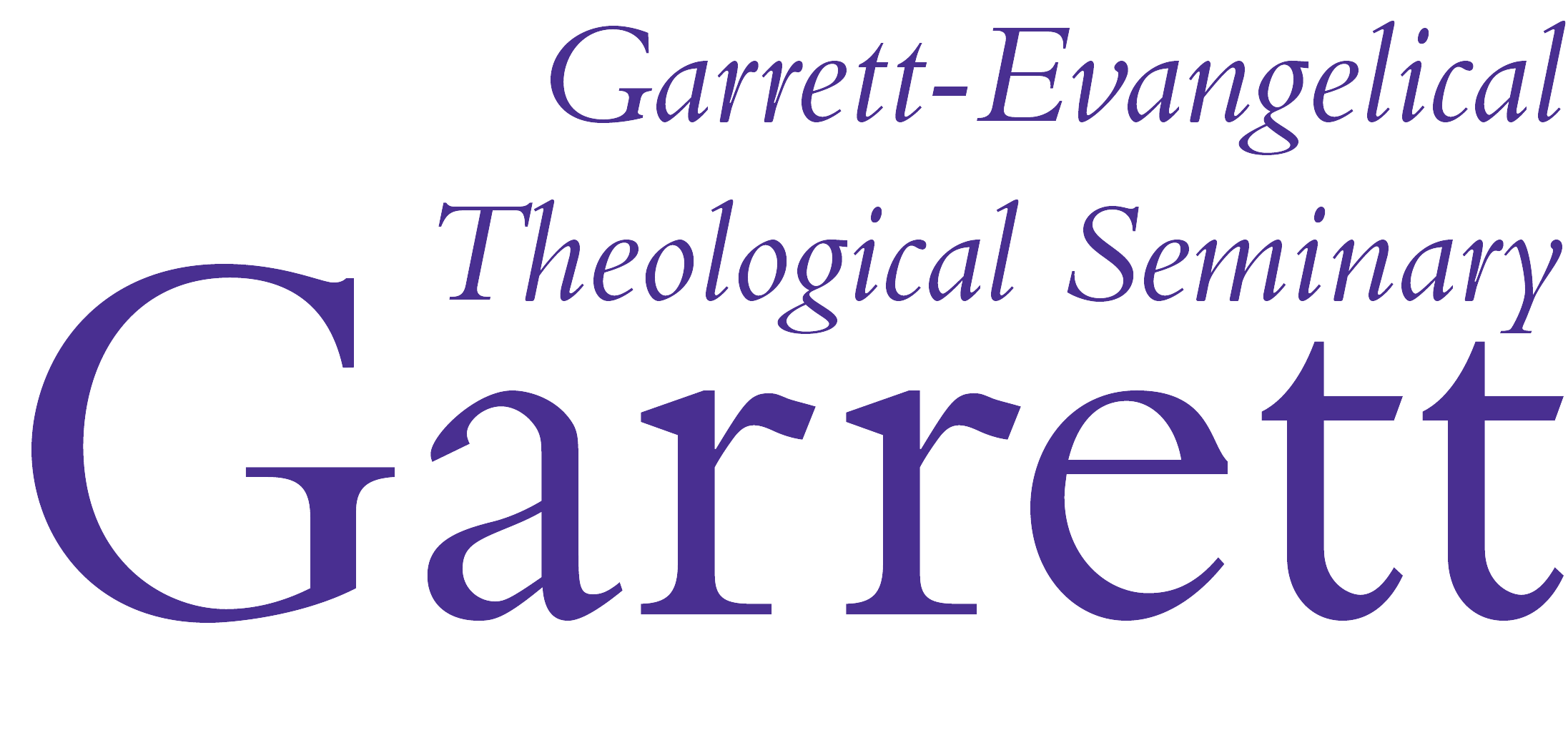 religion Garrett theological logo