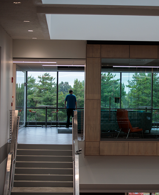 A look inside the new James Lehr Kennedy Engineering Building