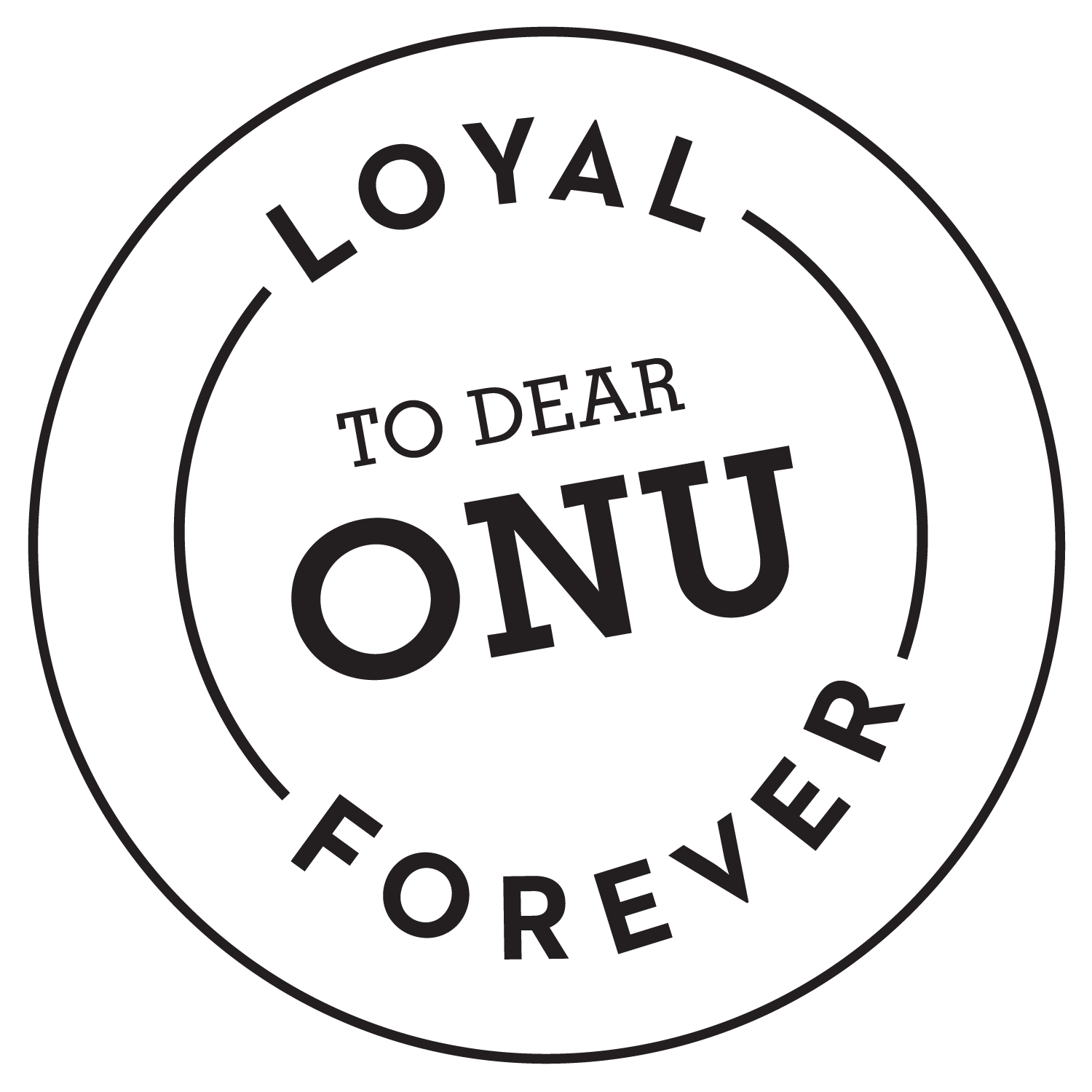 support onu loyal to onu