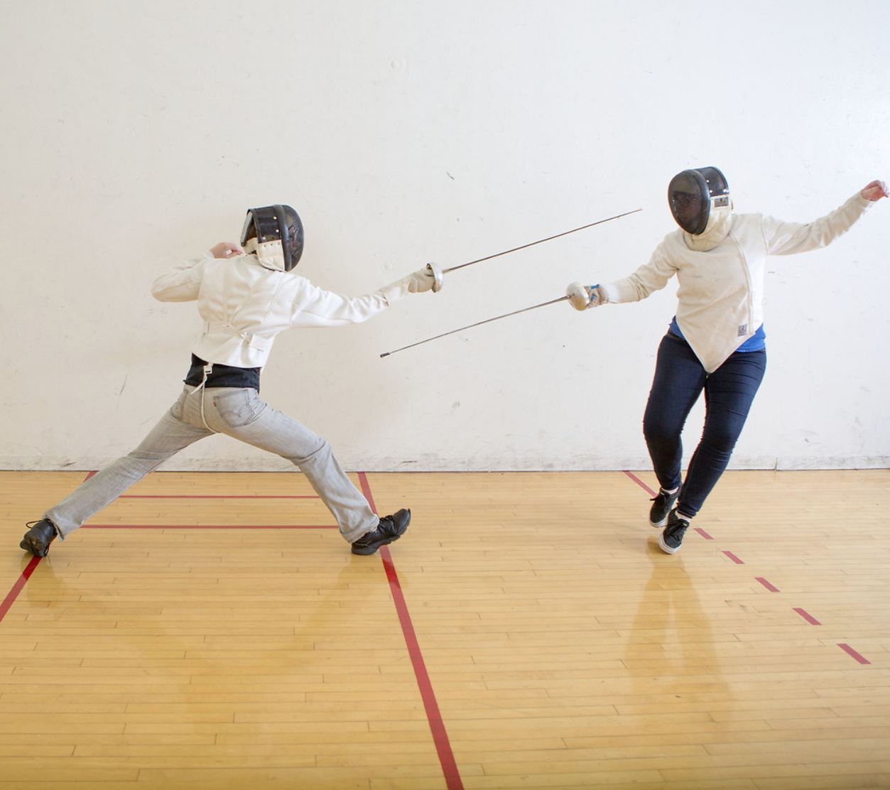 club sports at ONU - fencing is one option