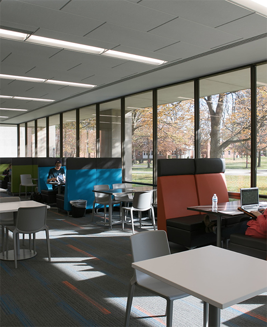 Open spaces to study