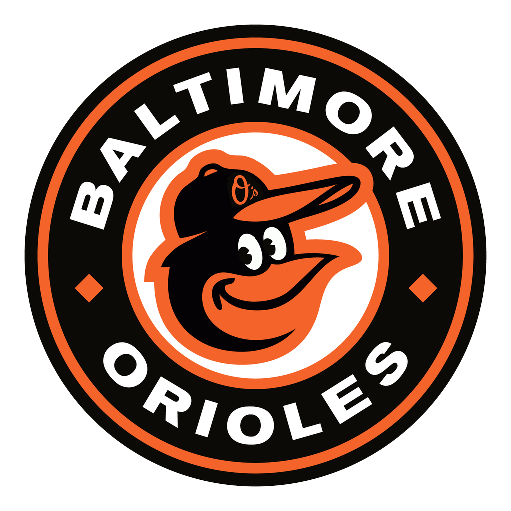 graphic design Baltimore orioles logo