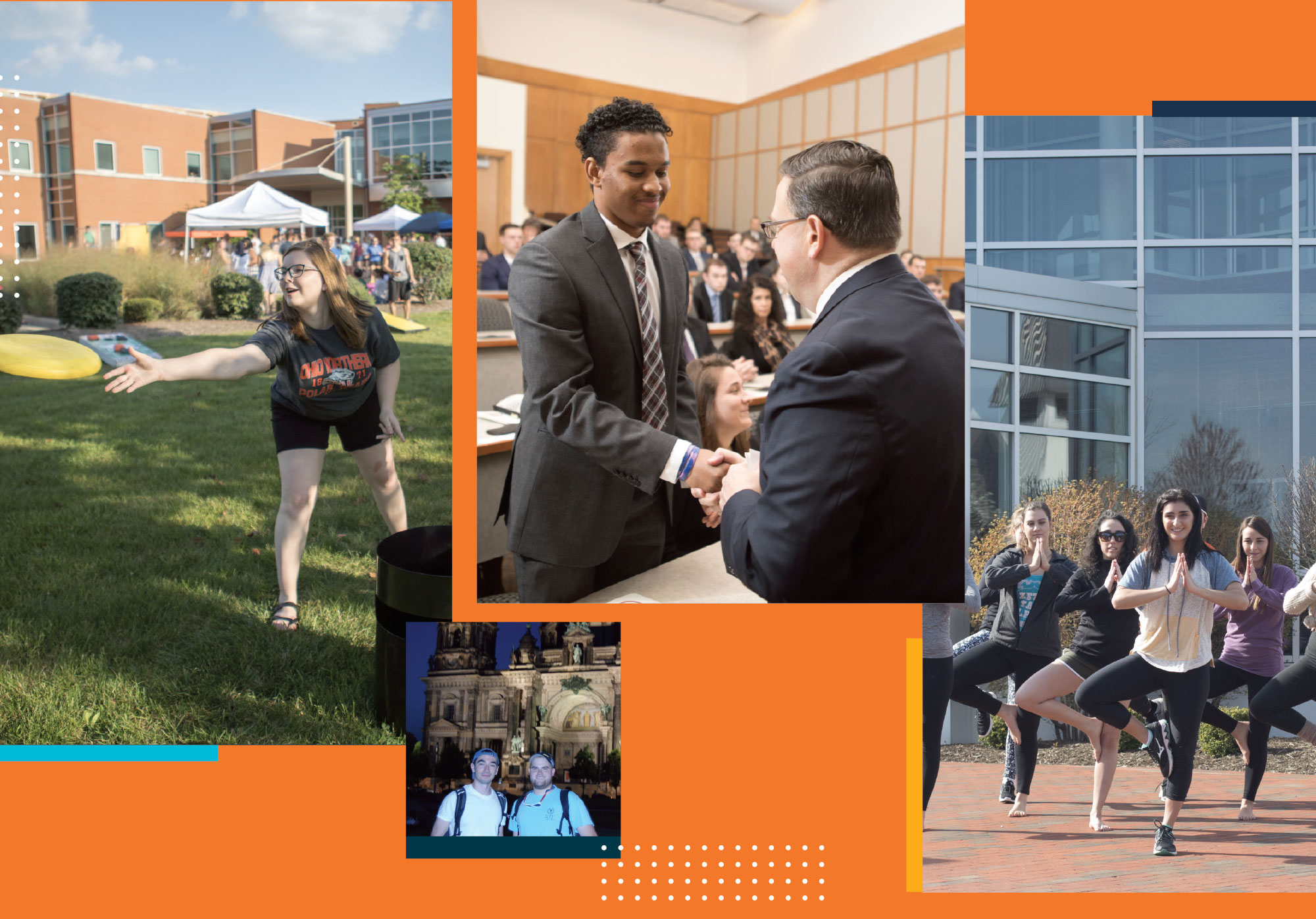 College of Business photo collage
