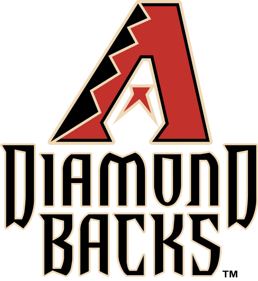 professional writing Arizona diamondbacks logo
