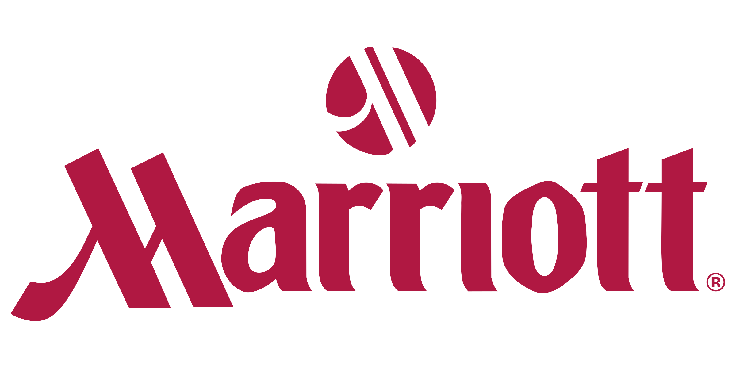 graphic design Marriott logo