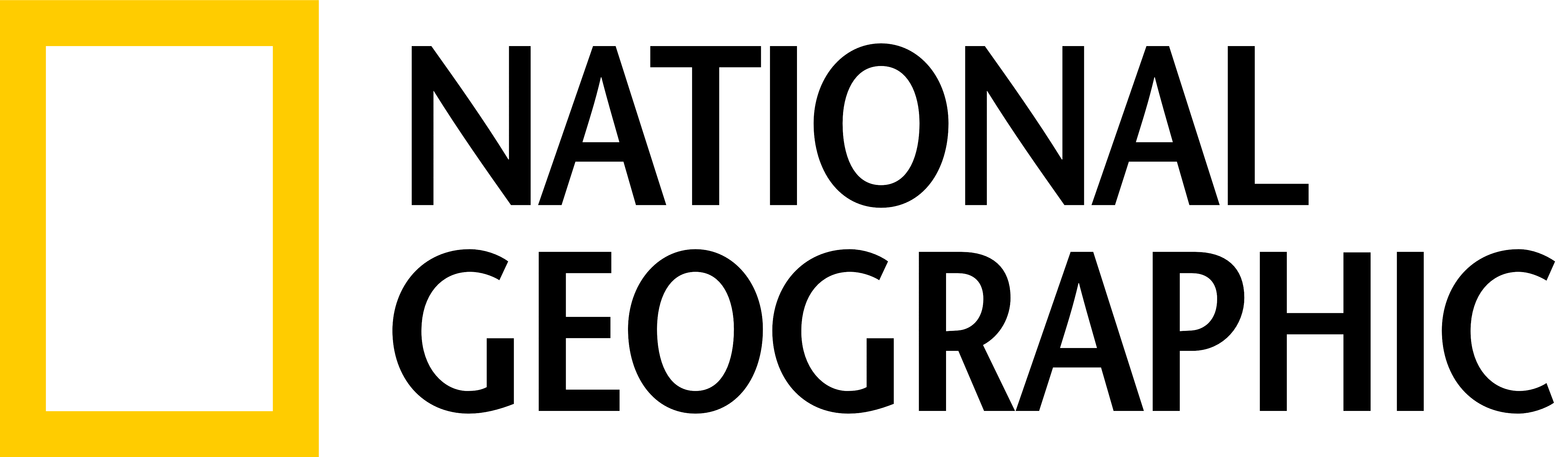 graphic design National Geographic logo