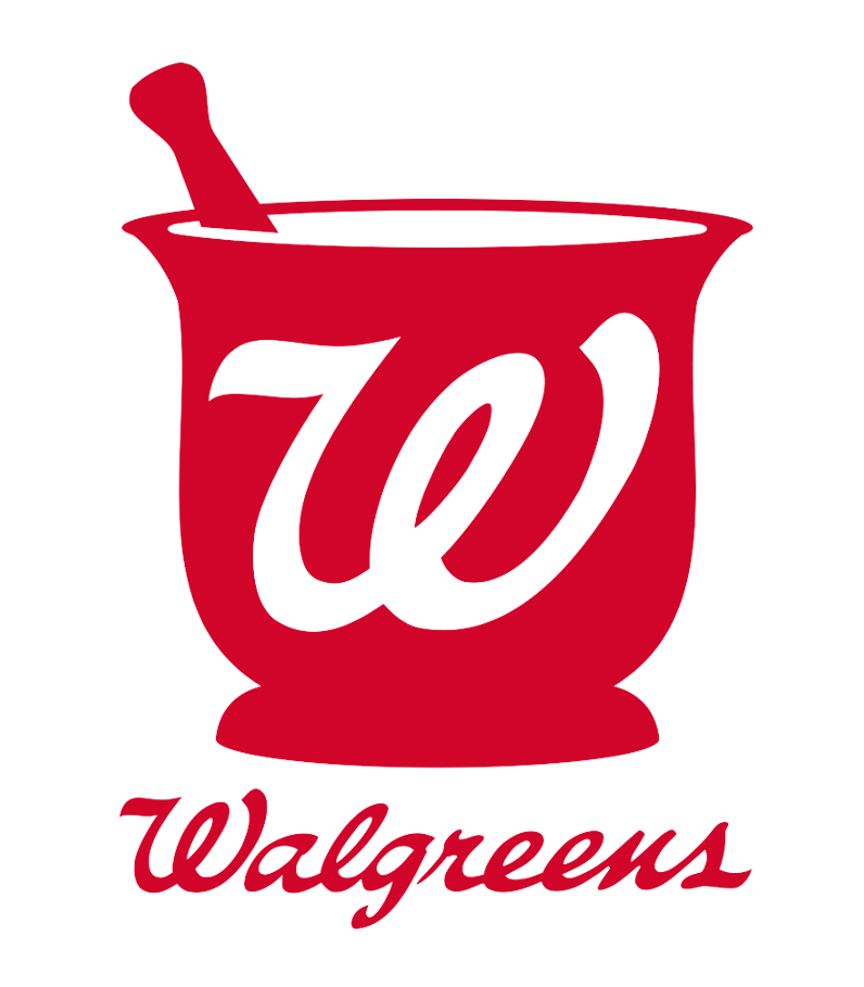 graphic design Walgreens logo