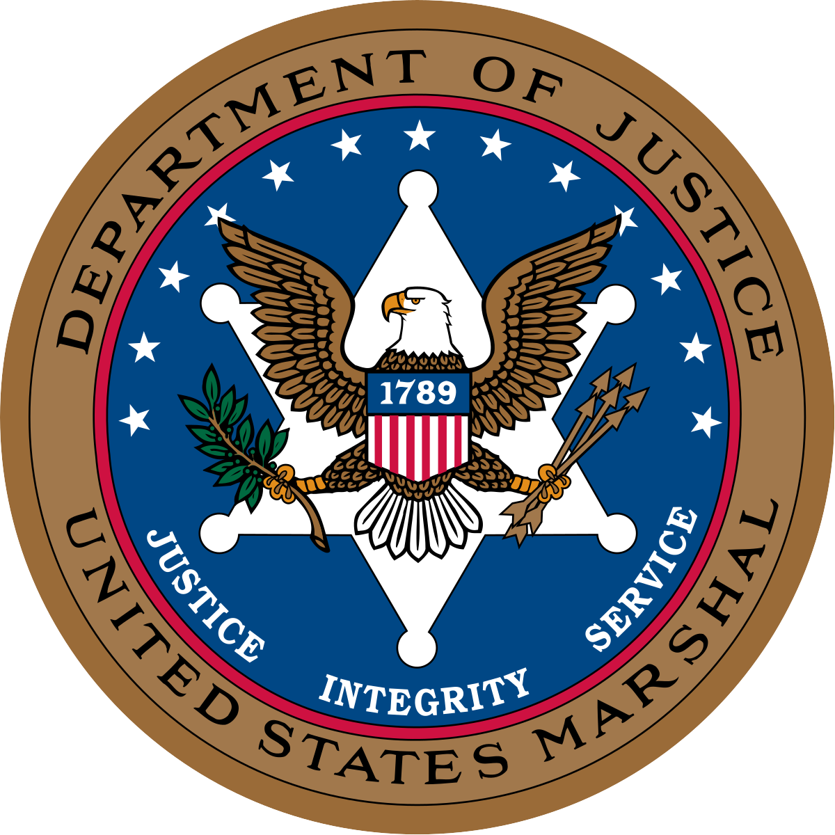 PPE department of justice logo