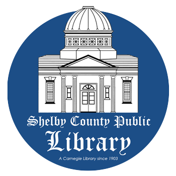 literature Shelby county library logo