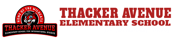 education Thacker schools logo