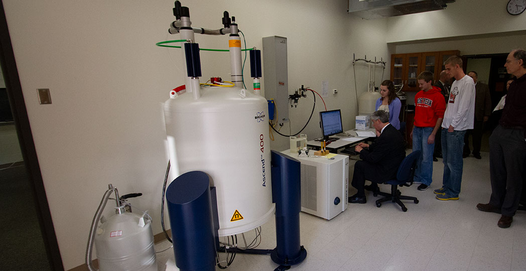 ONU is home to a state-of-the-art NMR