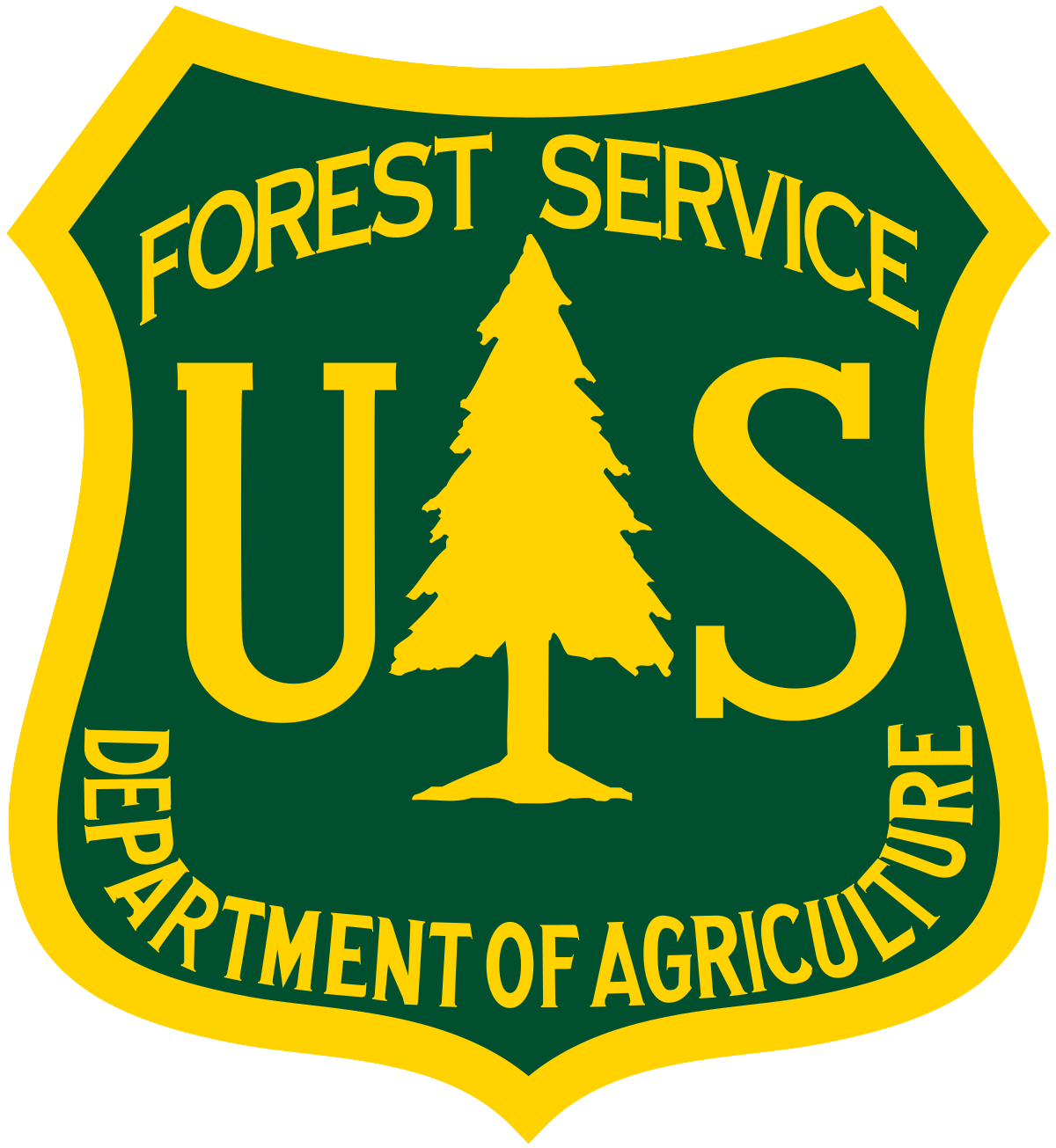 environmental and field biology National Forestry Service logo