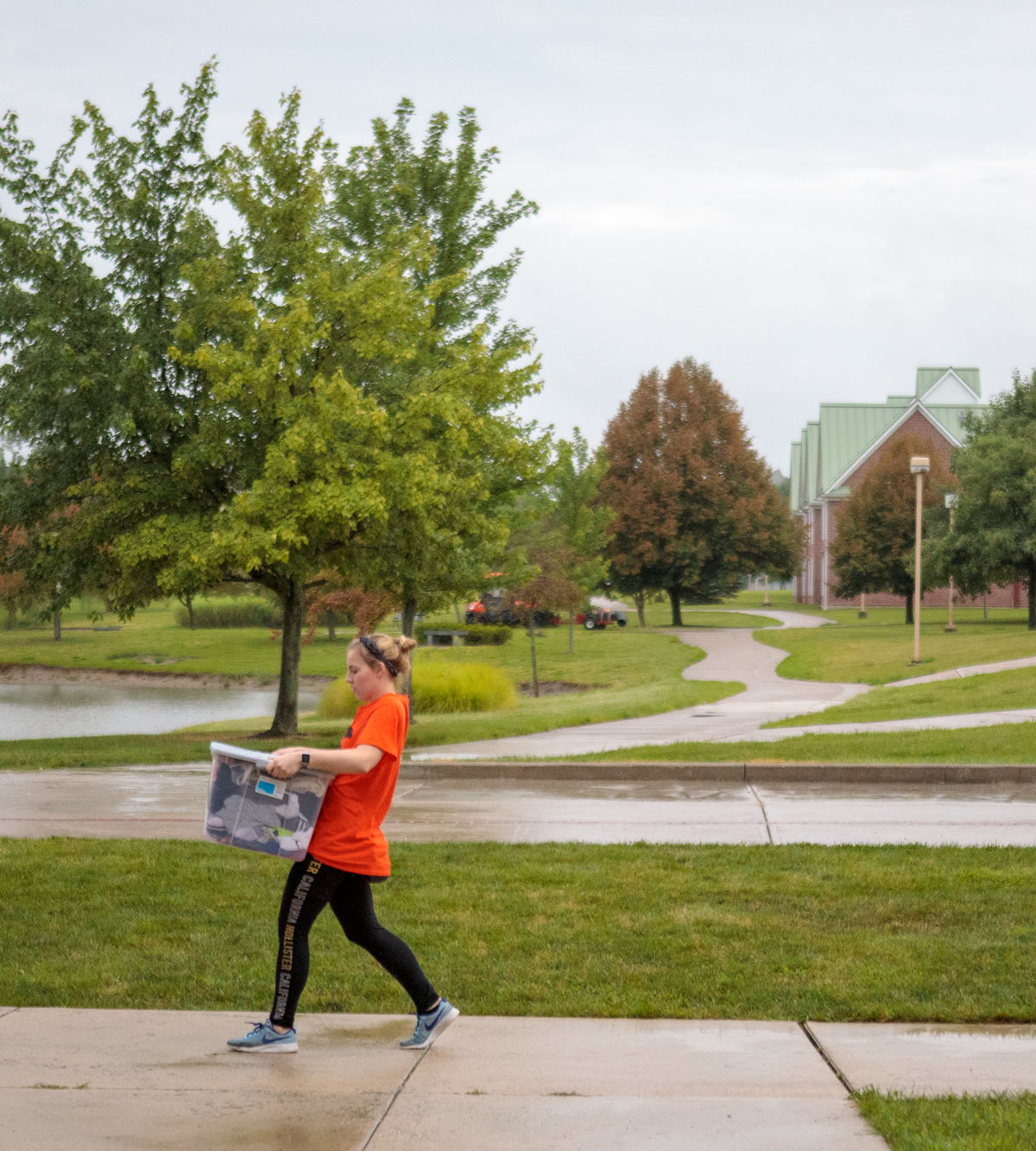 new students moved to the campus of Ohio Northern University to begin the academic year