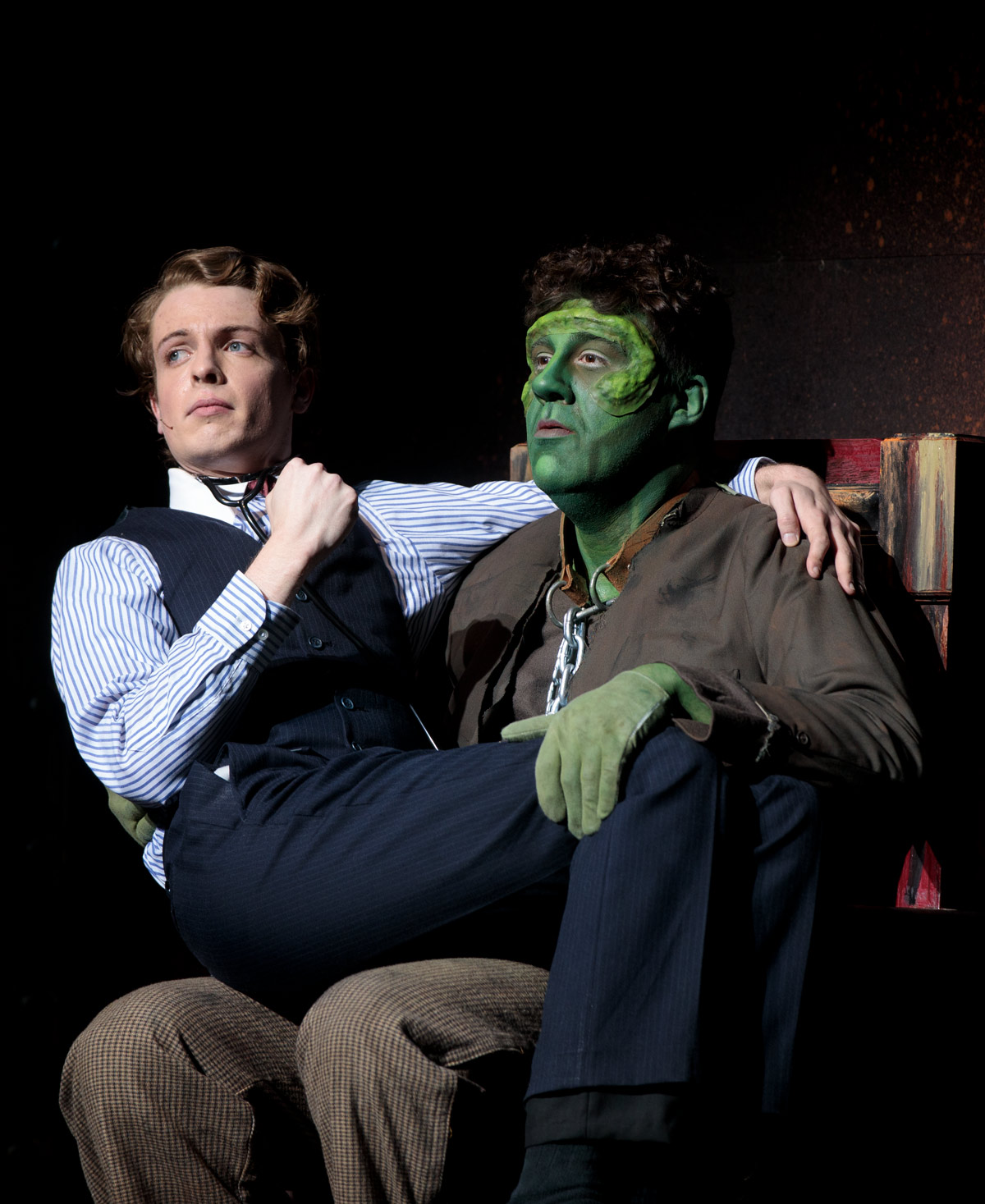 "Department of Theatre Arts presented ""Young Frankenstein"" at the Freed Center for the Performing Arts"