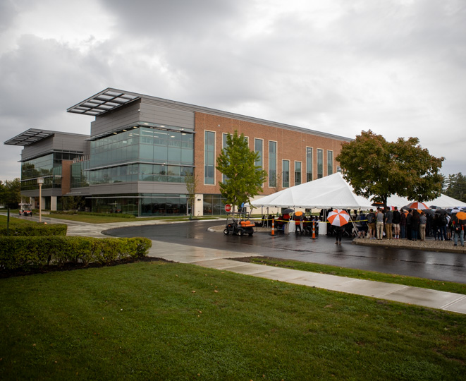 James Lehr Kennedy Engineering Building dedication event