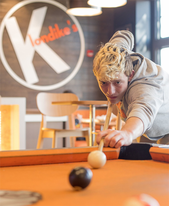 Klondike's Pool Table