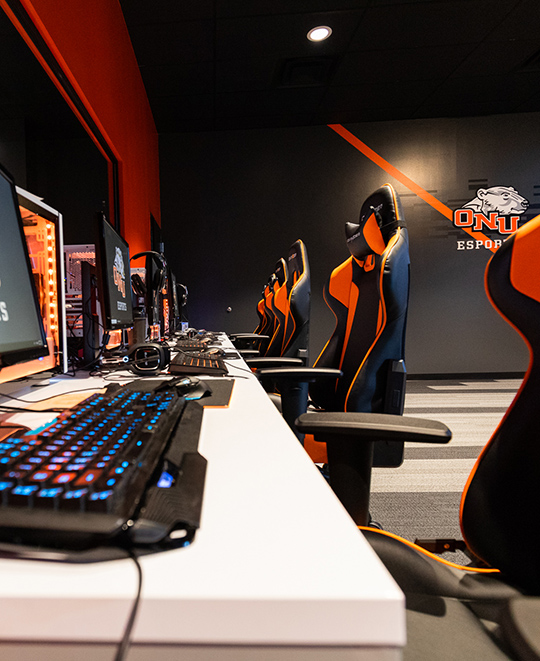 esports facility at ONU