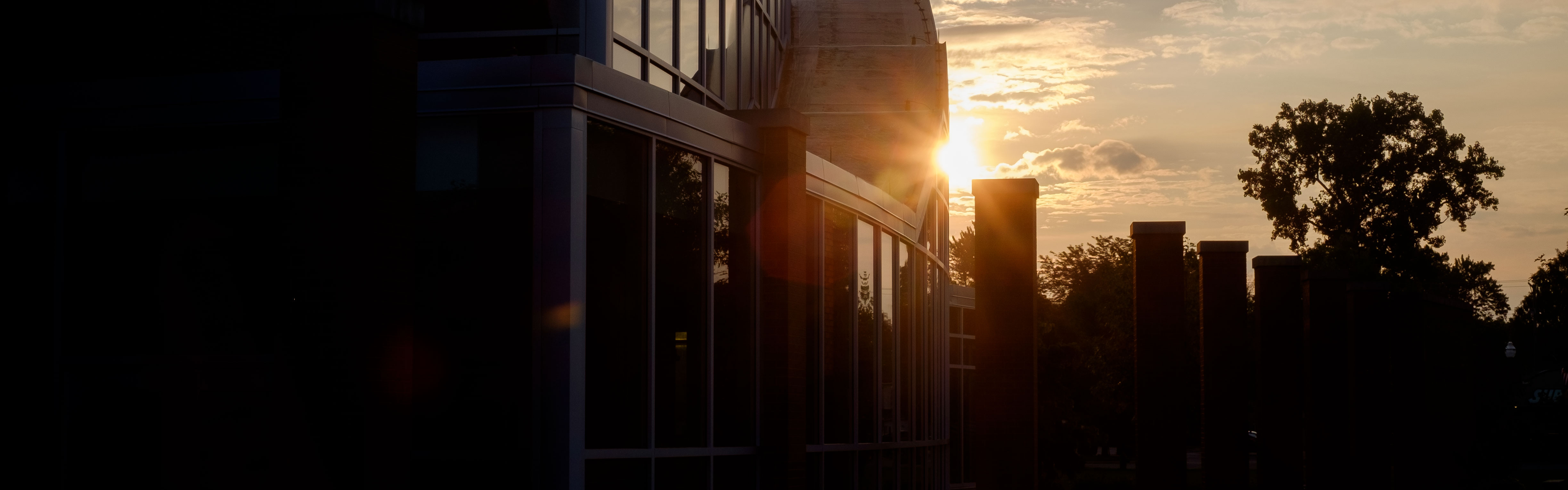 Dicke College of Business Sunset