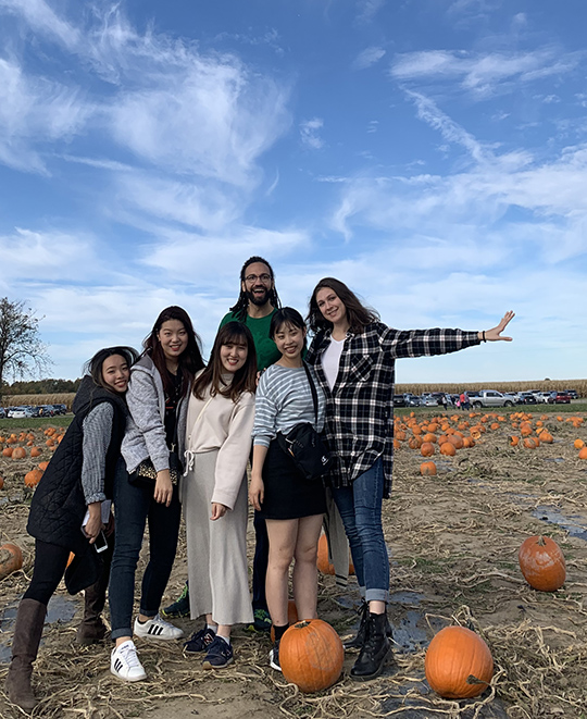 Pumpkin patch trip