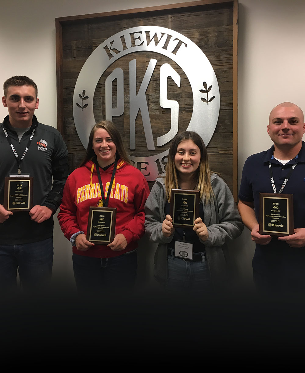 Student competition teams Kiewit