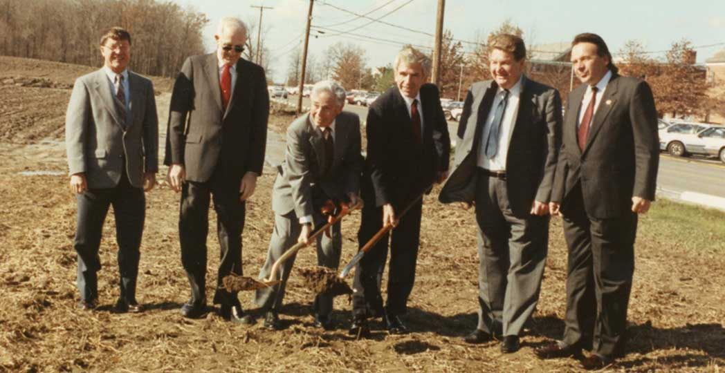 Freed Center groundbreaking