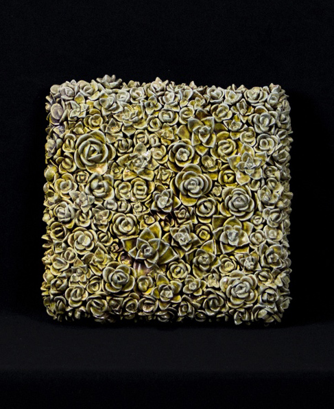 ceramic texture created by a student.