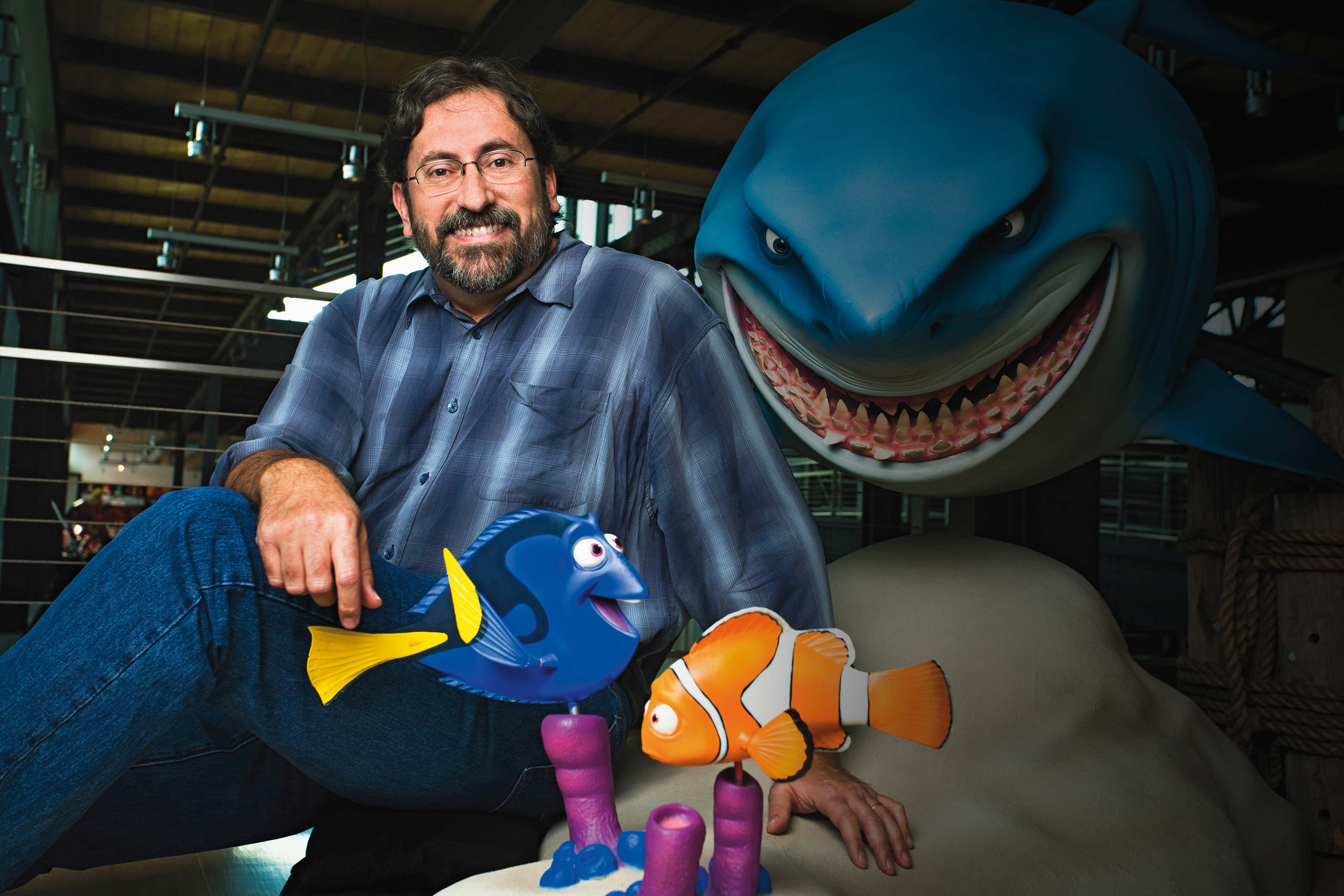 ONU alumnus Bob Peterson of Pixar Animation Studios