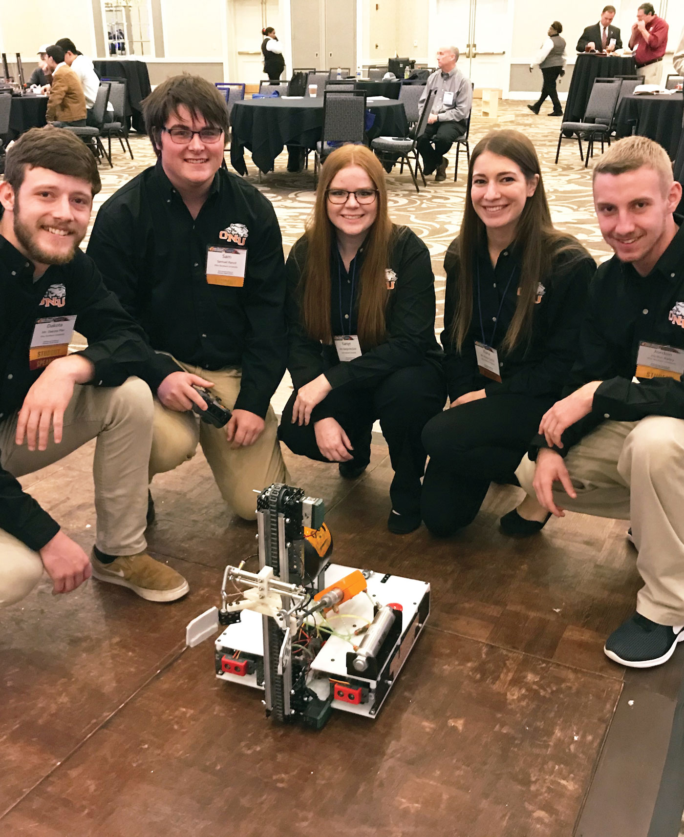 Student Robotic competition, Ohio Northern University