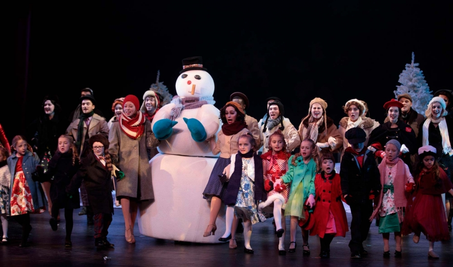 ONU Holiday Spectacular cast photo