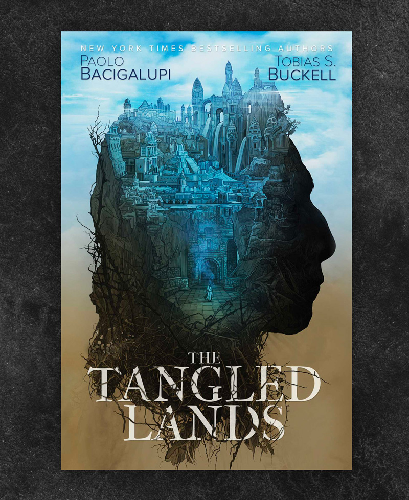 The Tangled Lands by Tobias Bucknell book cover