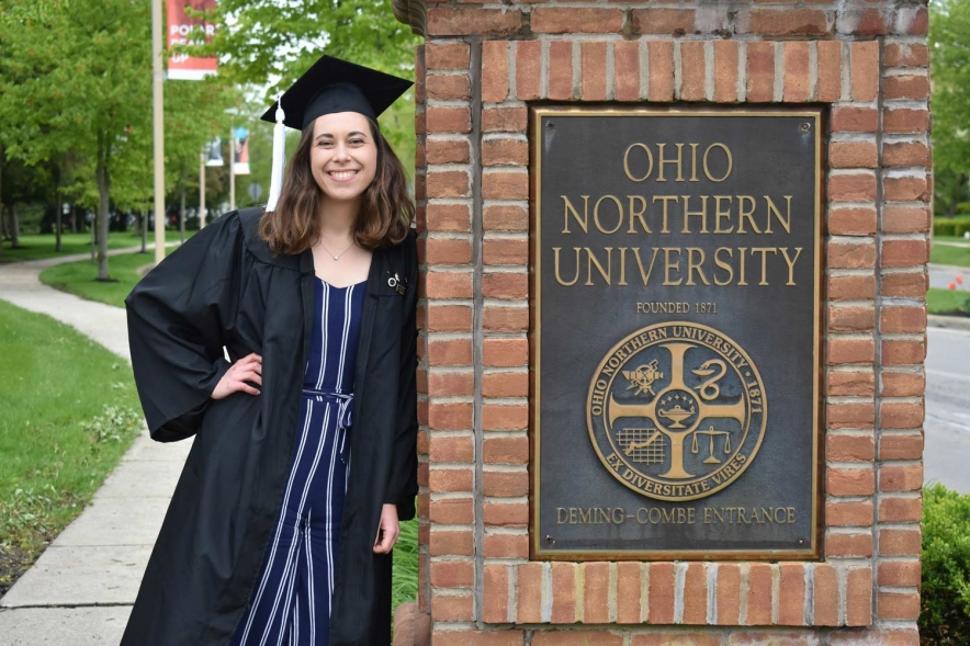 Recent ONU graduate earns photography honor