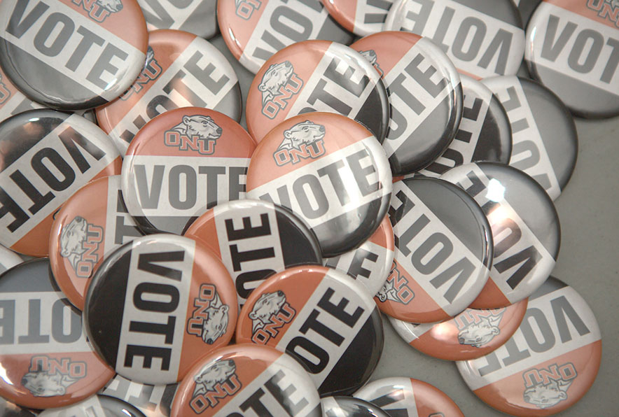 ONU vote buttons
