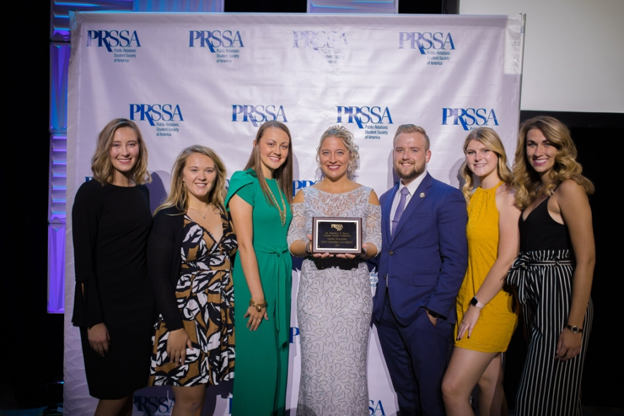 Ohio Northern public relations student chapter wins national honors