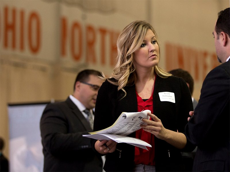 Career Fairs at Ohio Northern University